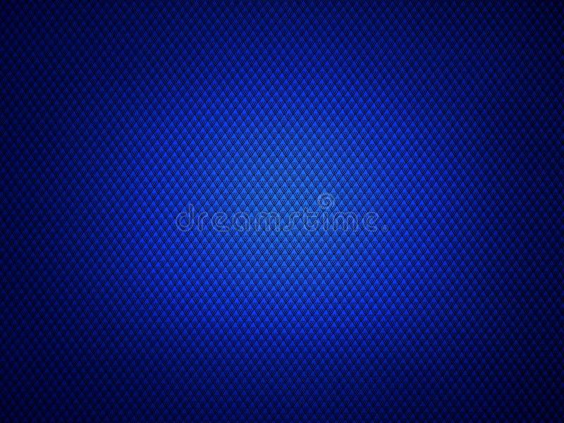 Auszug farbiger Hintergrund Schwarze Flecke auf Blau lizenzfreie stockfotos