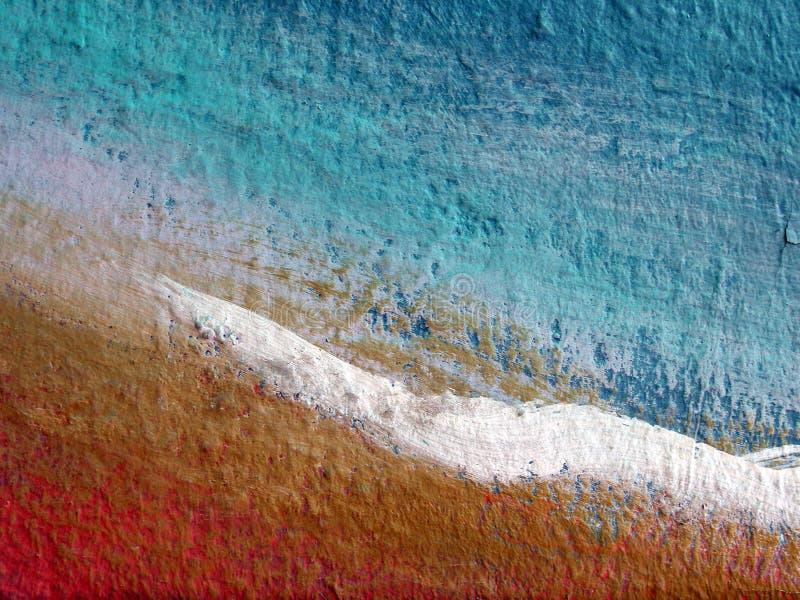 Auszug gemalte Wandoberfläche lizenzfreies stockbild