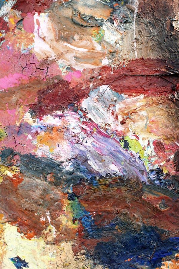 Auszug gemalter Hintergrund lizenzfreie abbildung