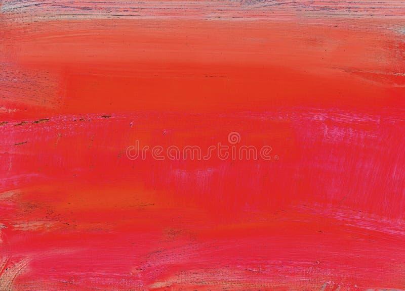 Auszug gemaltes Segeltuch lizenzfreies stockfoto