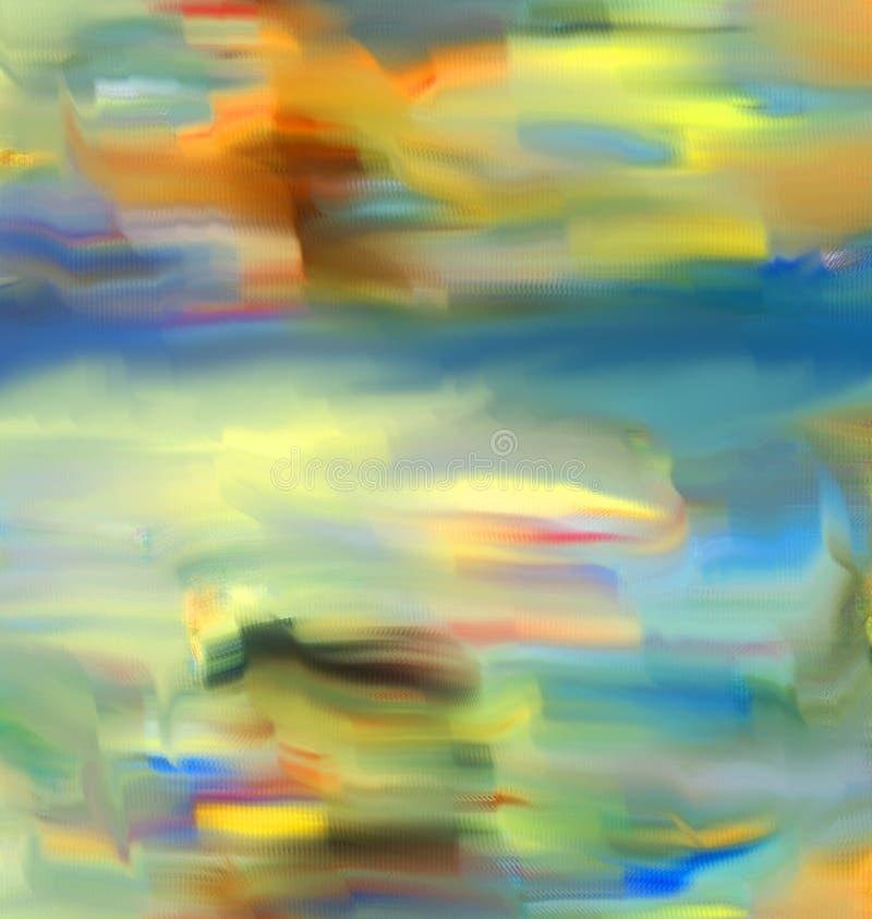Auszug Kunst Anstrich graphik Abstraktion abbildung stock abbildung