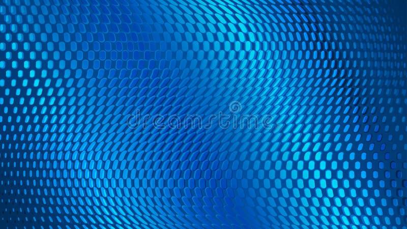Auszug punktiert Hintergrund stock abbildung
