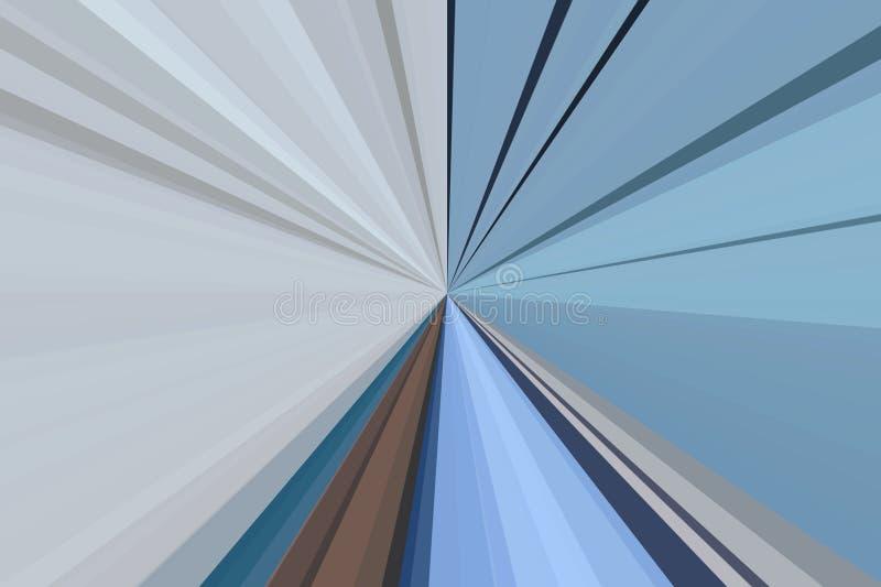 Auszug rays Hintergrund Buntes Streifenstrahlnmuster Moderne Tendenzfarben der stilvollen Illustration lizenzfreie stockfotos