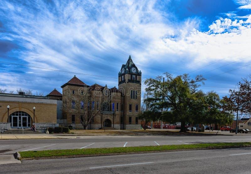Autauga County Gericht und Anhang lizenzfreie stockfotos