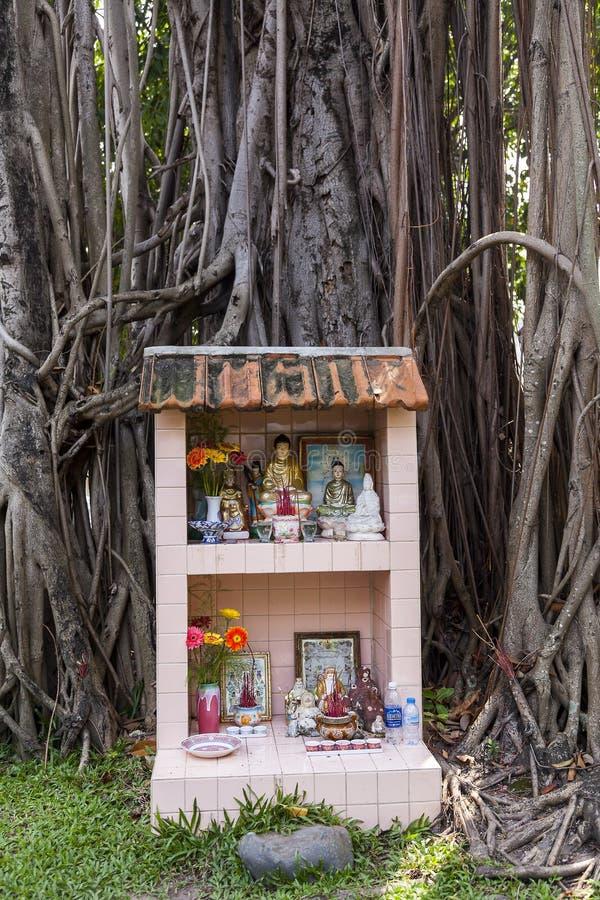 Autel bouddhiste photo libre de droits