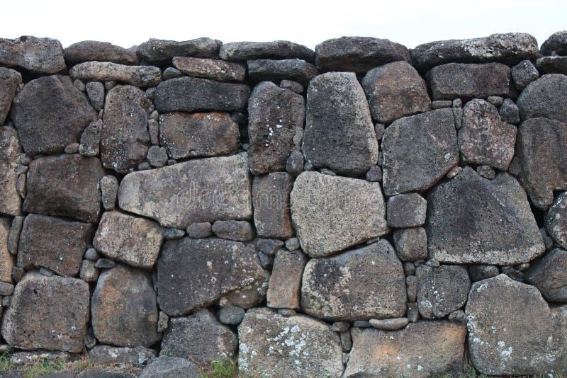 Autel d'Ahu Rapa Nui photo libre de droits