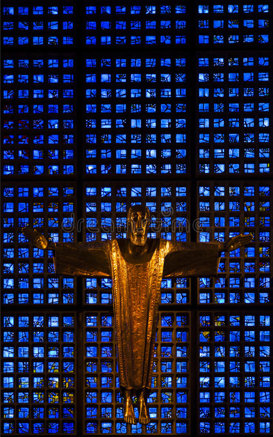 Autel de Kaiser Wilhelm Memorial photo libre de droits