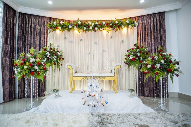 Autel de mariage photo stock