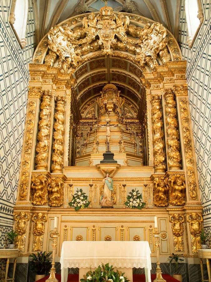 Autel Santa Maria de Marvila images stock