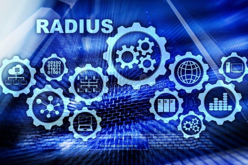 Autenticazione a distanza in quadrante nel servizio dell'utente Concetto delle reti di telecomunicazioni illustrazione di stock