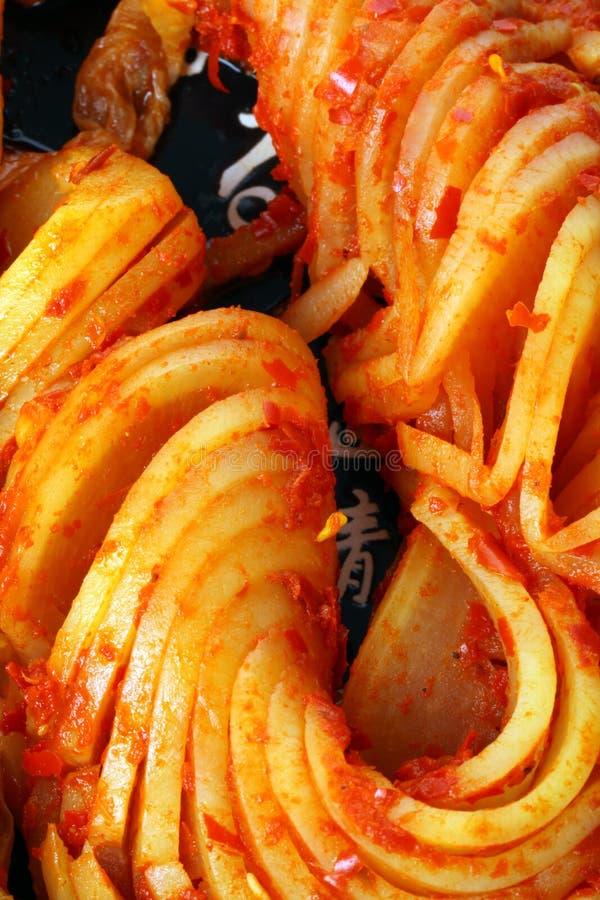 autentisk kimchikorean royaltyfria foton