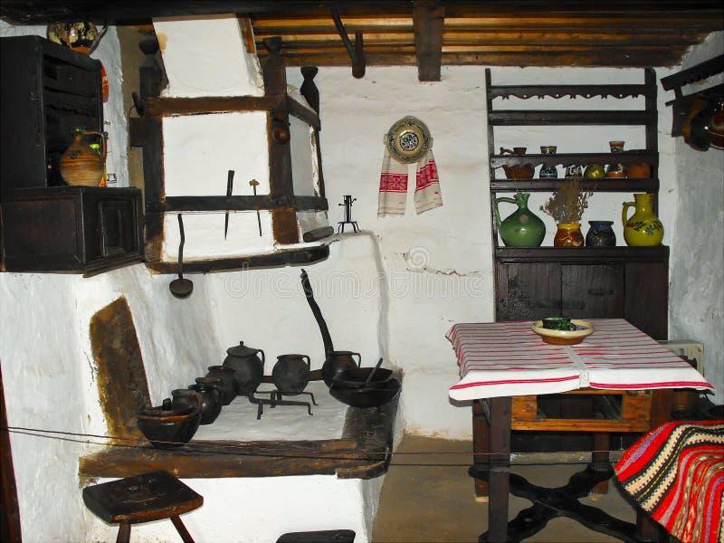 autentyczny kuchenny tradycyjny fotografia stock