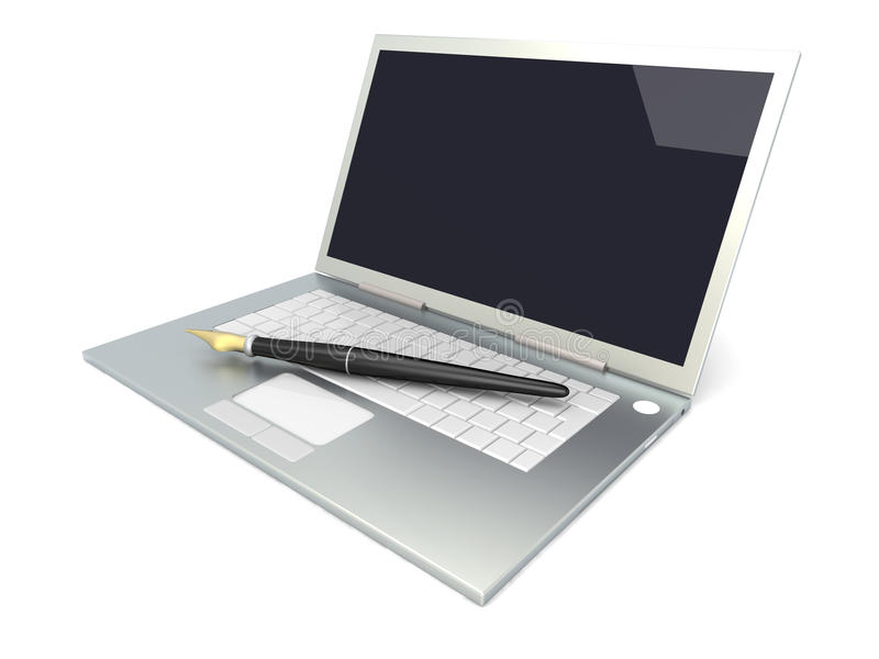 Auteur de Digitals illustration de vecteur