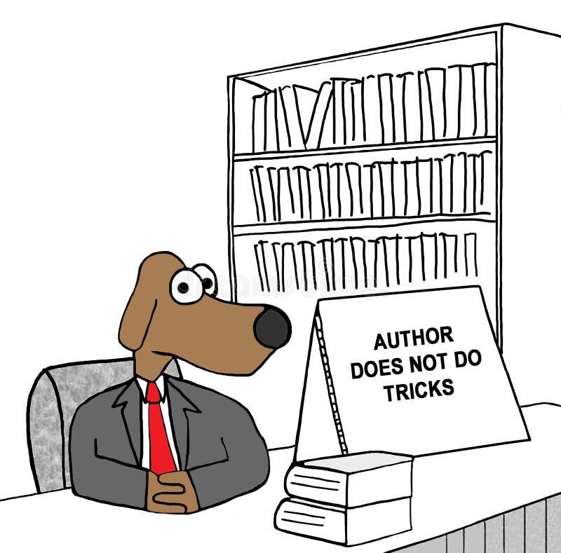 Auteur en Trucs vector illustratie