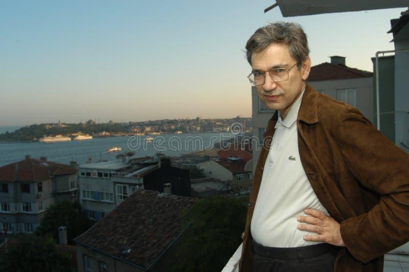 Auteur Orhan Pamuk stock afbeeldingen