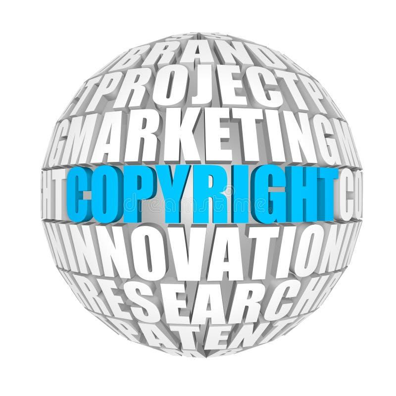 Auteursrecht royalty-vrije illustratie