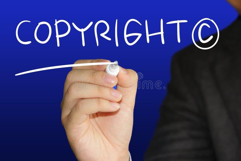 auteursrecht royalty-vrije stock fotografie