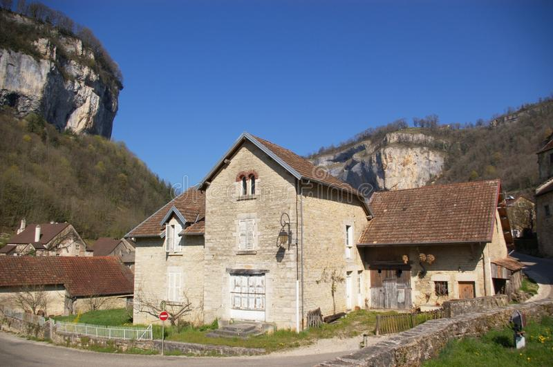 Download Authentic french village stock image. Image of baumme - 19327123