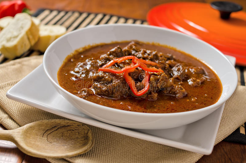 Authentic Hungarian Goulash royalty free stock photo
