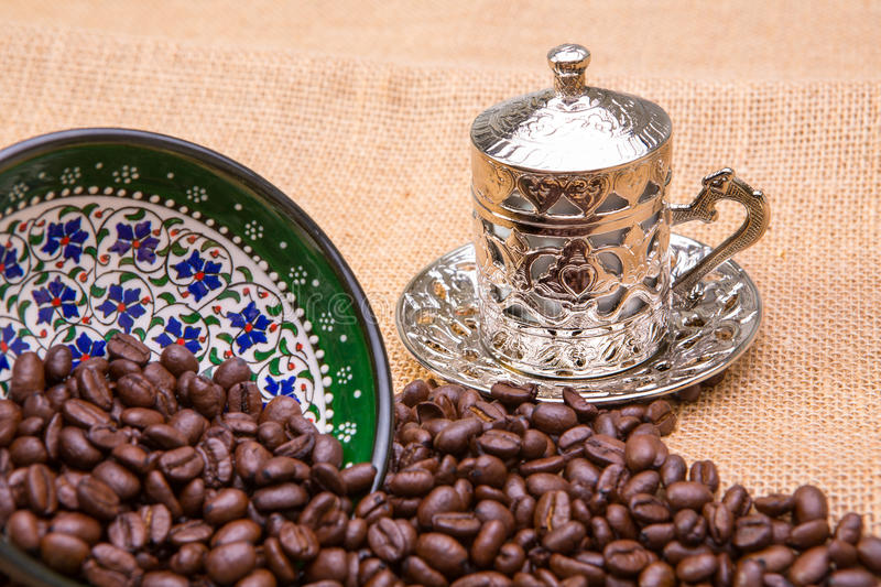 Download Authentic Coffee Cup stock photo. Image of black, closeup - 30146380