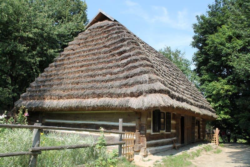 Authentic Ukrainian house royalty free stock images