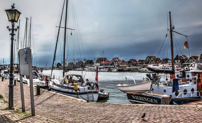 Authentiek Nederlands landschap stock afbeeldingen