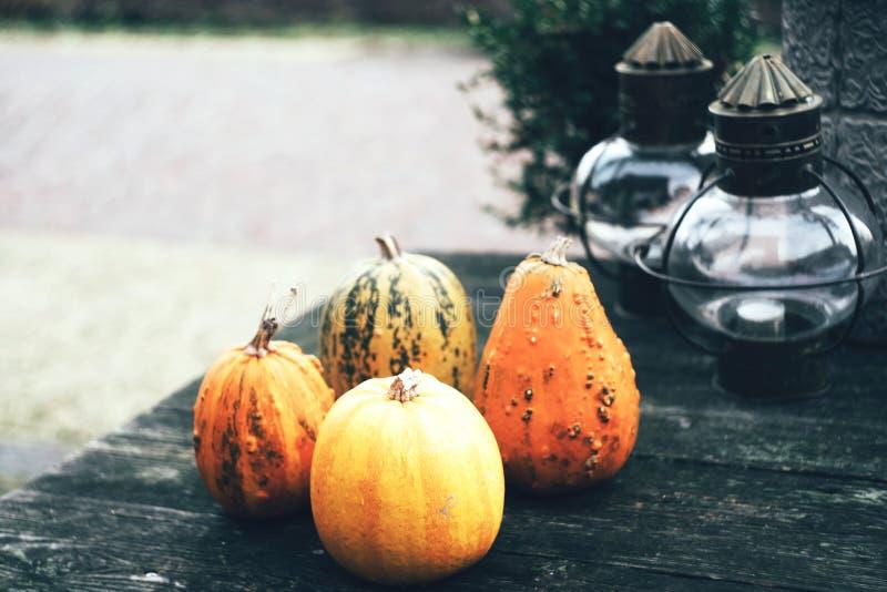 Authentieke Halloween-Decoratie stock afbeelding