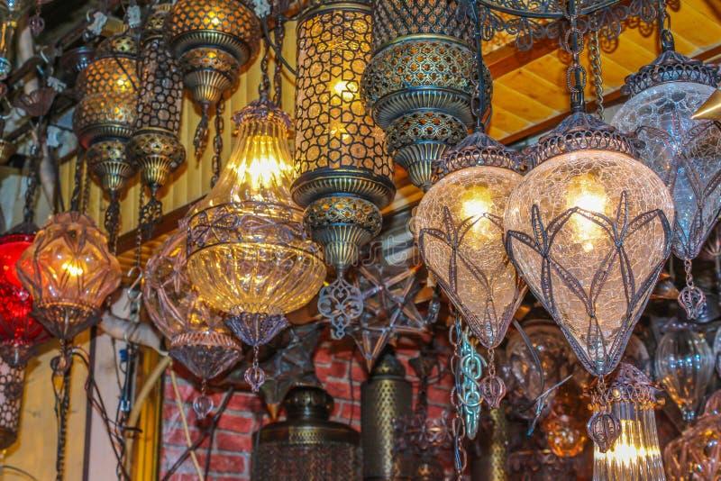 Authentieke lampen royalty-vrije stock foto