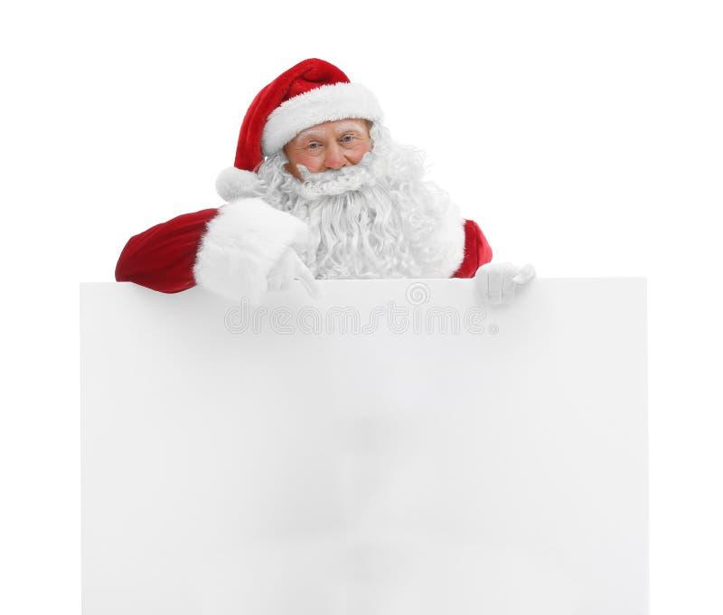 Download Authentieke Santa Claus Met Affiche Stock Afbeelding - Afbeelding bestaande uit exemplaar, gelukkig: 107703347