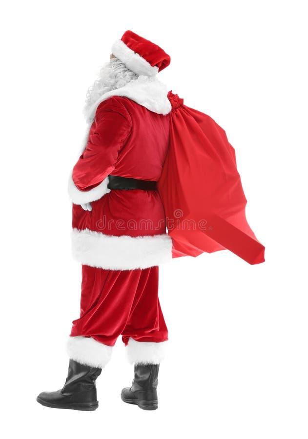 Download Authentieke Santa Claus Met Grote Giftzak Stock Afbeelding - Afbeelding bestaande uit menselijk, persoon: 107703427