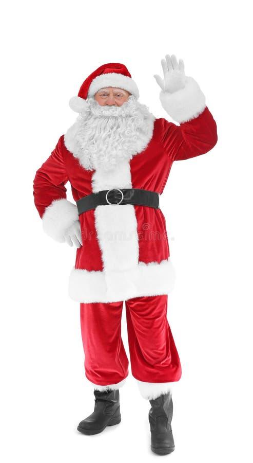 Download Authentieke Santa Claus-status Stock Afbeelding - Afbeelding bestaande uit geïsoleerd, gebeurtenis: 107703105