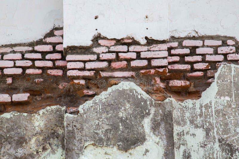 Authentische alte Backsteinmauer lizenzfreie stockfotos