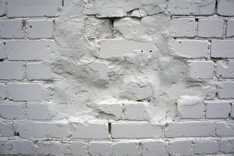 Authentische alte Backsteinmauer mit verschiedenen Farben stockfoto