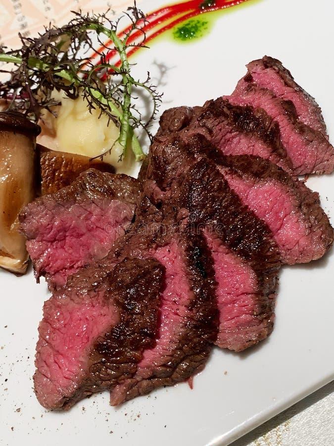 Authentisches Kobe Beef stockbilder