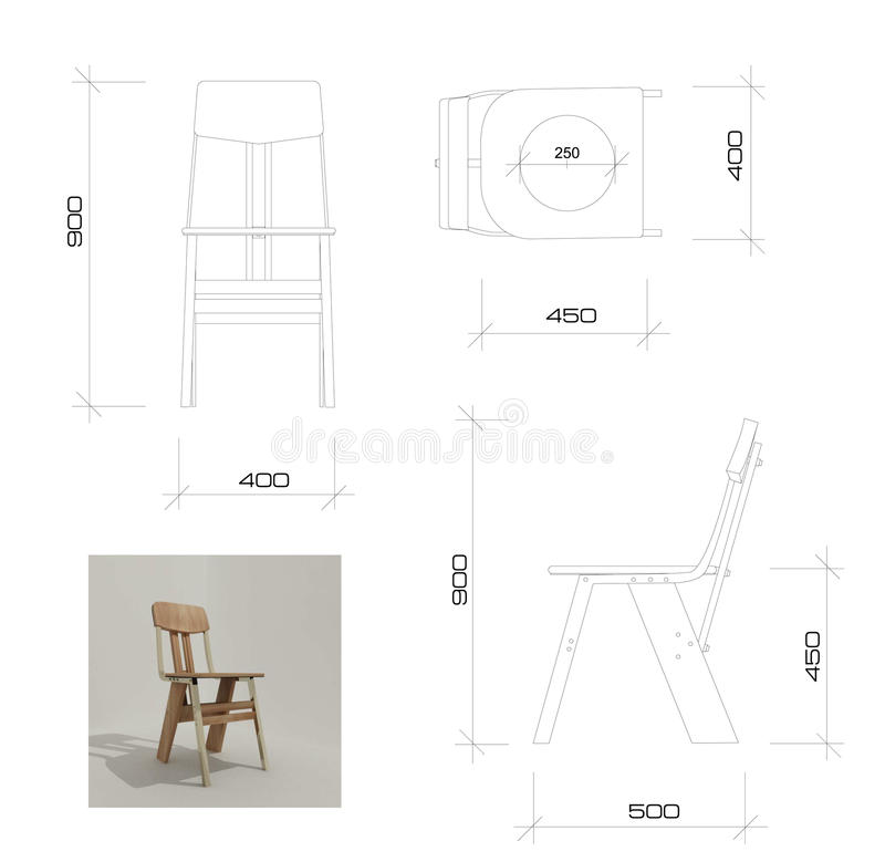Free Author S Developed Design Chair Stock Image - 14527551
