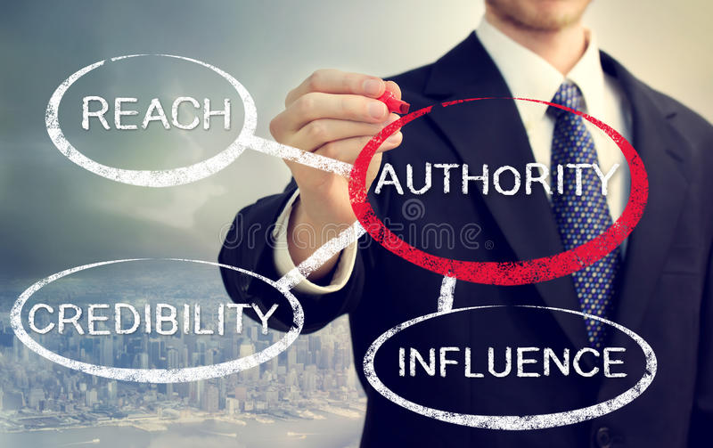 Authority and its sources stock photos