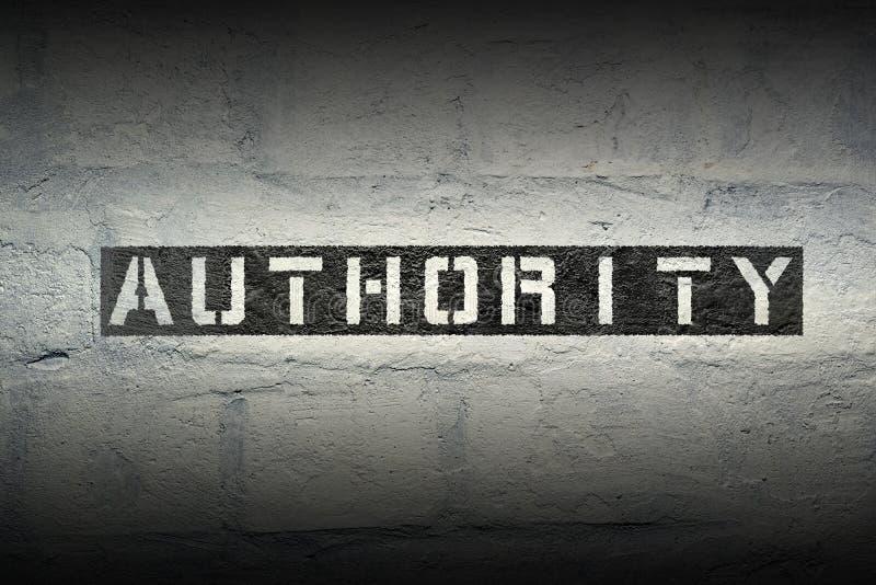 Authority WORD GR stock photos