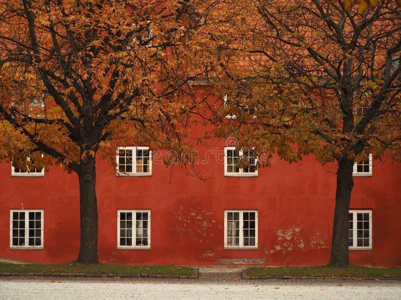 Authumn à Copenhague Danemark photographie stock