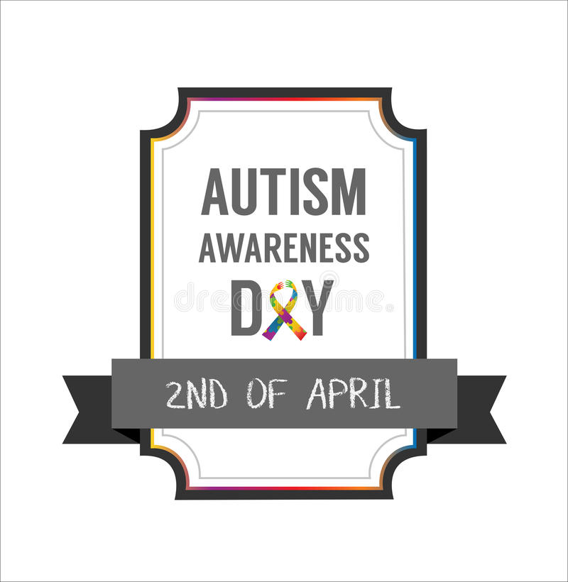 Autism awareness design vector. Digitally generated Autism awareness design vector vector illustration