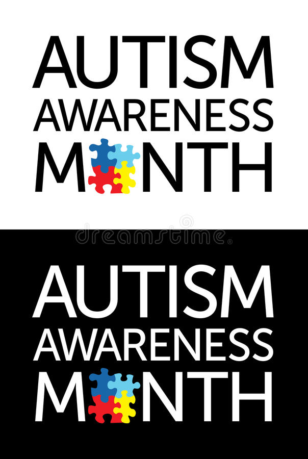 Autism Awareness Month Stock Illustration Illustration Of Syndrome
