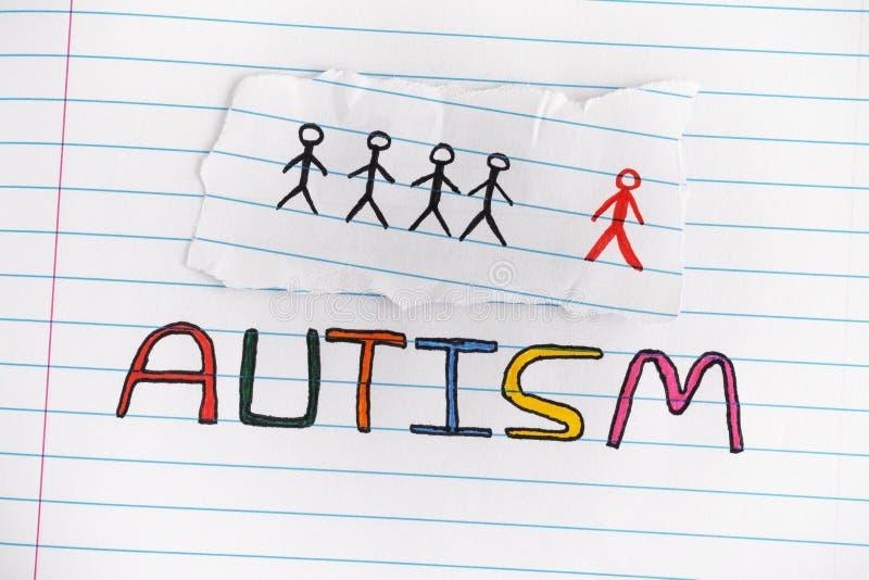 autism Désordre de spectre d'autisme photos libres de droits