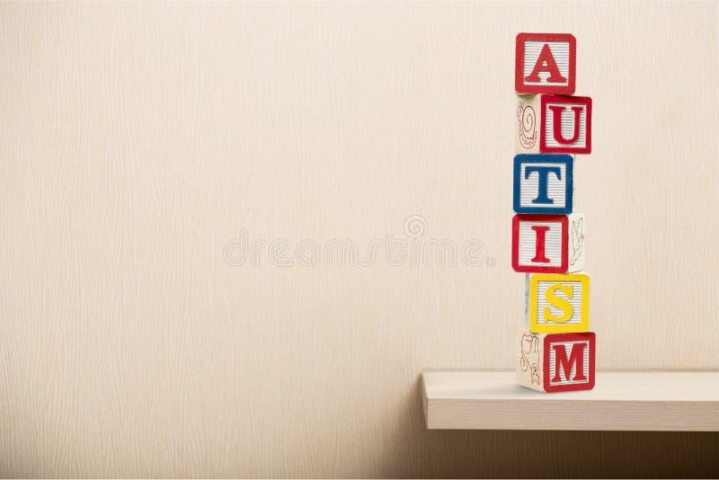 Autismeblokken stock foto's