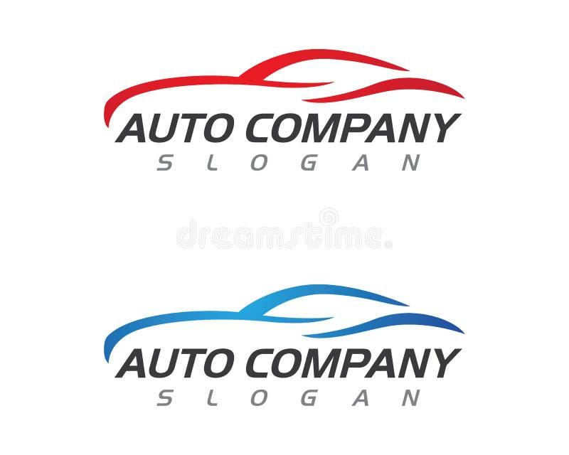 Auto ícone do logotipo do carro ilustração do vetor