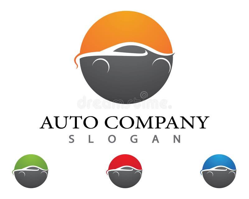 Auto ícone do vetor do carro ilustração stock