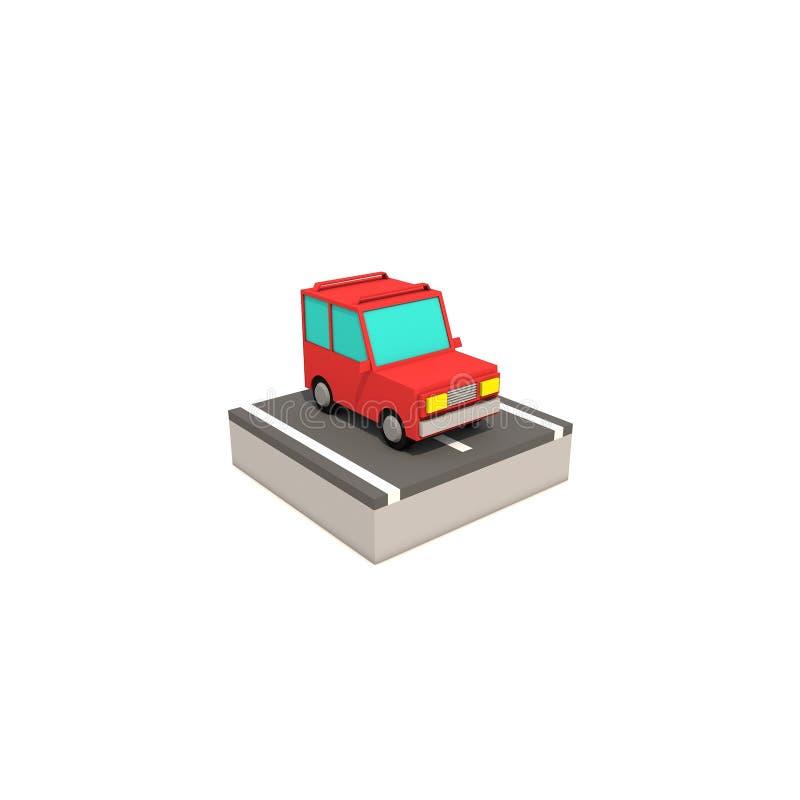Download Auto stock illustratie. Illustratie bestaande uit eenvoudig - 107703095