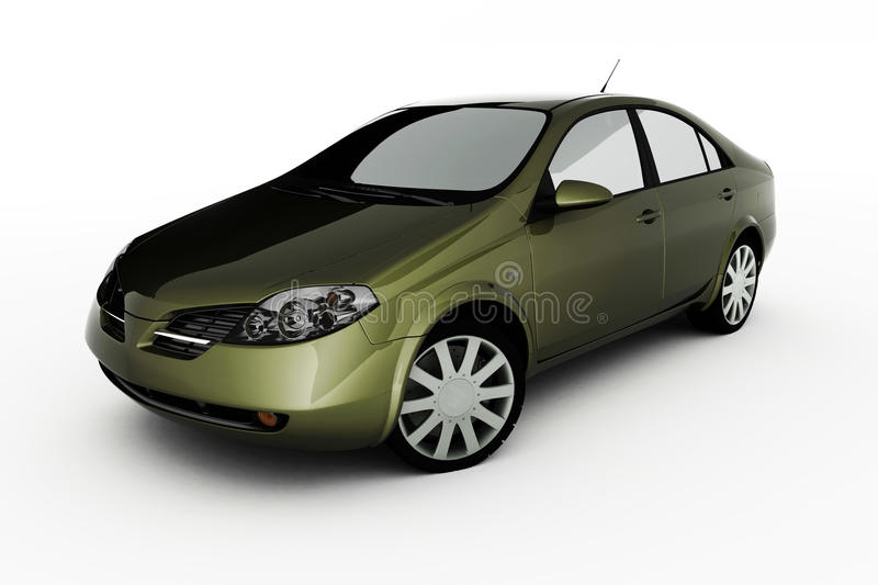 Download Auto stock illustration. Image of model, lowered, headlights - 13077224