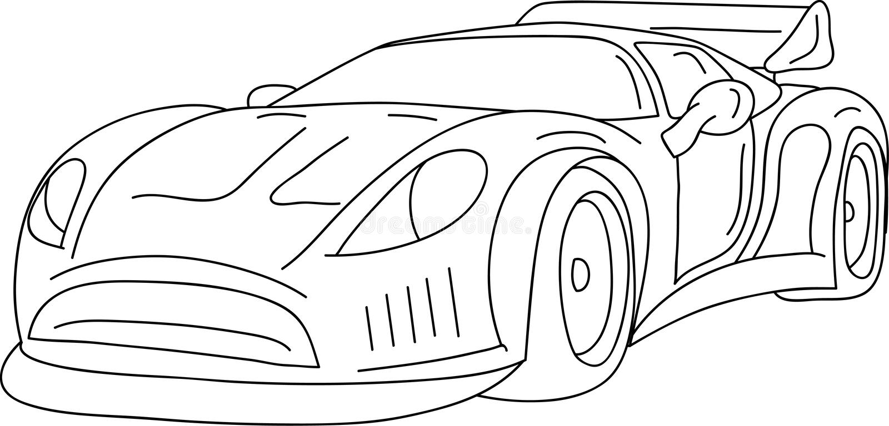 Auto vektor abbildung