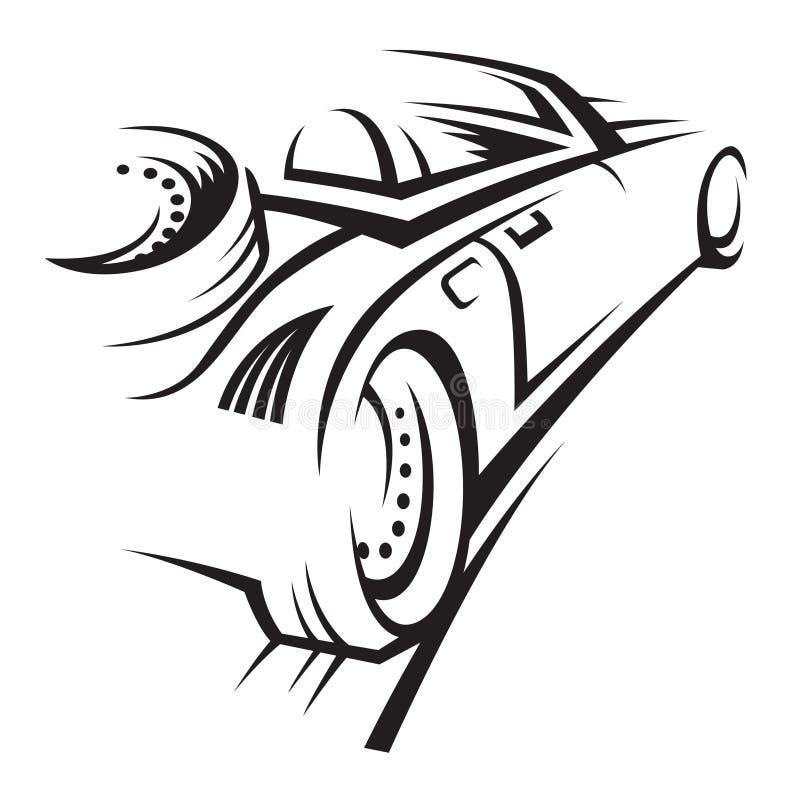 Auto royalty-vrije illustratie