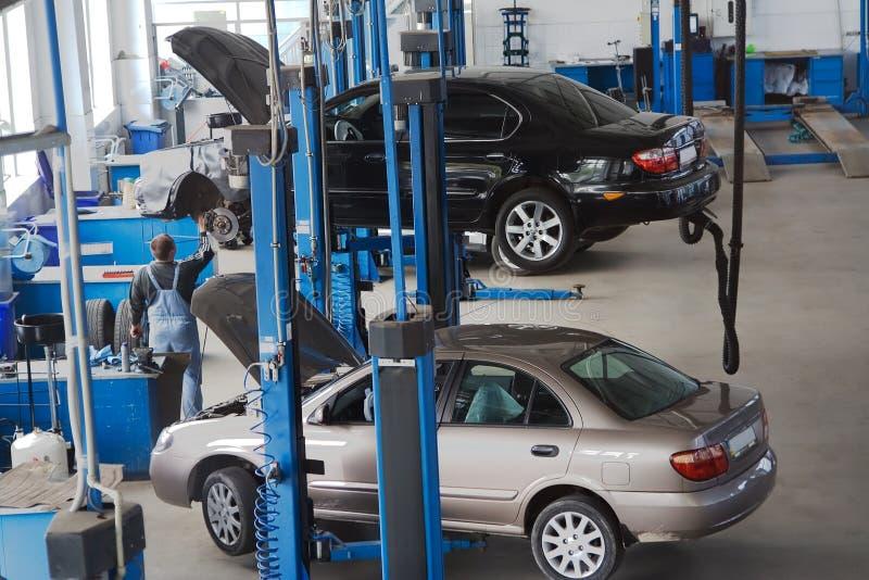 Auto 2 de dienst stock foto's