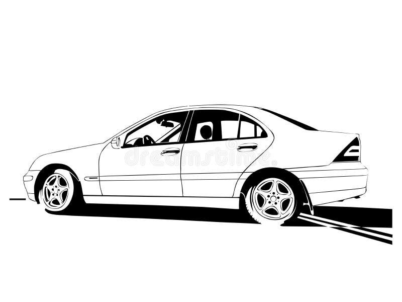 Auto stock illustratie